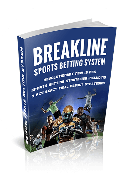 Breakline Sports Betting System Book