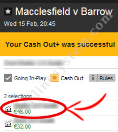 Macclesfield - Barrow match